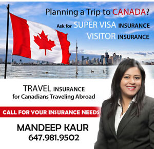 super visa Insurance / Visitor Medical Insurance