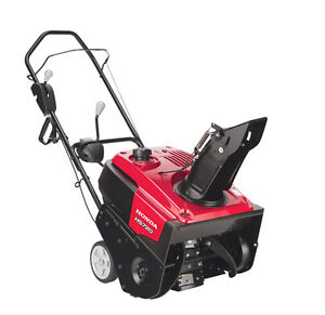 PREPARE FOR THE WINTER WITH A HONDA SNOWBLOWER!