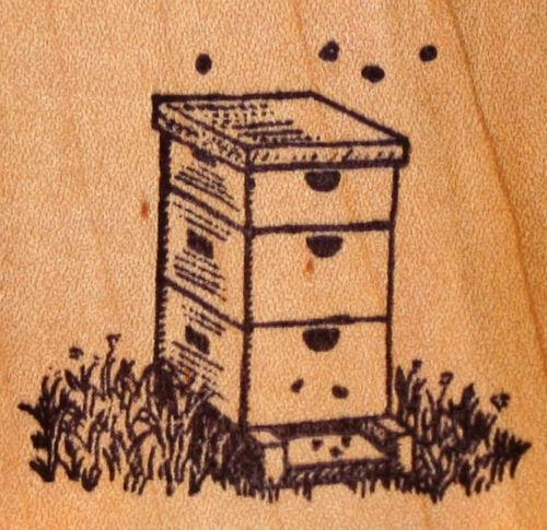 Bee Rubber Stamp