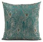 Blue Green Throw Pillows