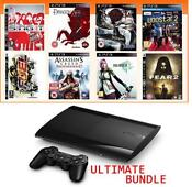 PS3 Console Games Bundle