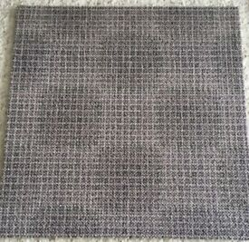 1000s of High Quality Grey Milliken Circle Patterned Carpet Tiles