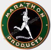 Marathon Gas Sign
