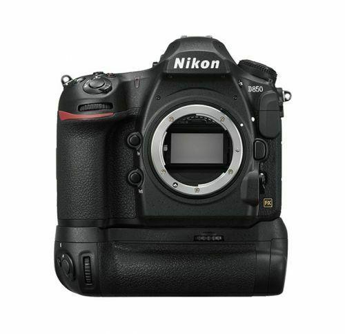 New NIKON D850 DSLR Camera Body & MB-D18 Battery Pack Set 45.7MP FX Full Format