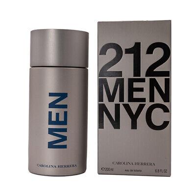 212 Men by Carolina Herrera 6.7 / 6.8 oz EDT Cologne for Men New In Box