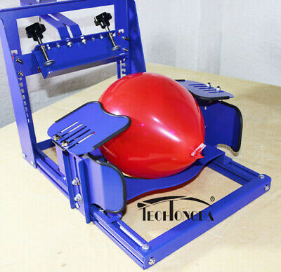 Open Box 1 Color Screen Printing Press Machine For Ballon Fast Shipping