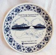 Holland America Plate