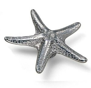 Cabinet Hardware Star Fish Knobs 56760 Antique Pewter 3