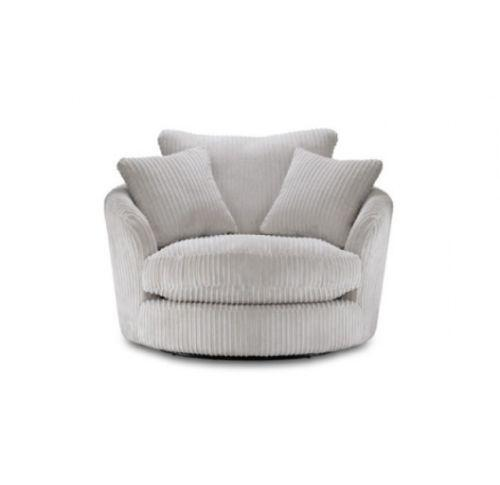 Cuddle Chair Leather Fabric Swivel Chairs