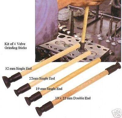 Sykes Pickavant Ventil Plätscher Schleifen Werkzeuge 4 Stück ()
