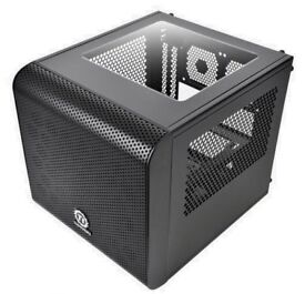 Thermaltake Core V1 Mini ITX Cube Case with 200mm Fan