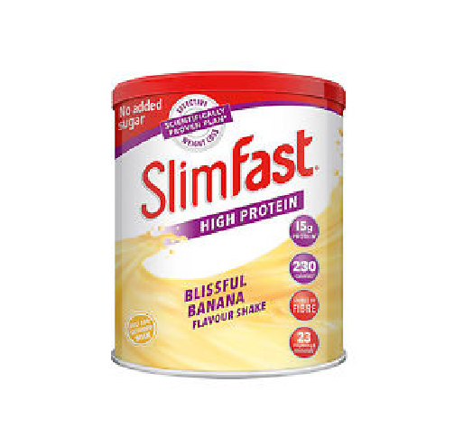Slimfast Diet Powder Shake Weight Loss Replacement Meal Milkshake  BLISSFUL BANANA