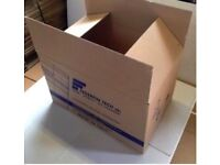 Cardboard Boxes,Large, Single Wall, for Packing / Moving - used 58cm x40cmx38cm - £1 EACH