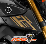 Yamaha FZ-09 & MT09 custom stickers