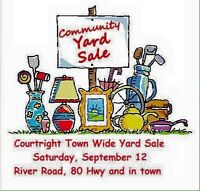 Courtright Town Wide Yard Sales