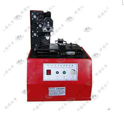 Semi Automatic Circle Plate Expiry Date Ink Pad Cup Code Printing Machinetdy380b