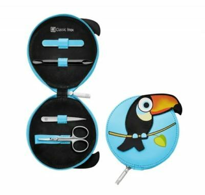 Zwilling J. A. Henckels CLASSIC INOX Children Manicure Poket Case, 4pcs. (Vogel)