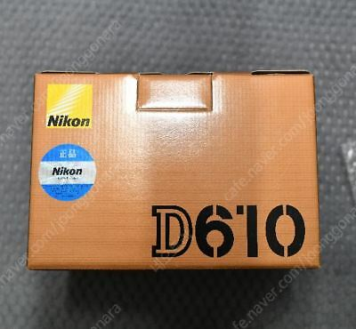Nikon D610 24.3 MP CMOS FX-Format DSLR Camera (Body Only)