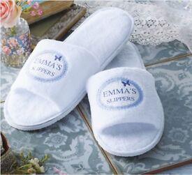 Women's & Men's White Slippers £15.00 ( Brand New)
