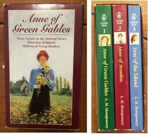 ANNE OF GREEN GABLES Boxed Set $10