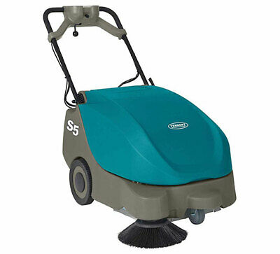 Tennant S5 Compact Battery-powered Walk-behind Sweeper