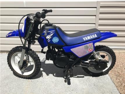 YAMAHA PeeWee 50 (PW50) motor bike