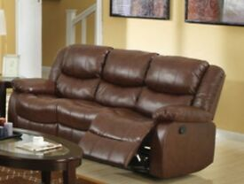 Recliner sofa 3 & 2 seater - Brand New