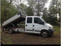 Vauxhall movano tipper truck