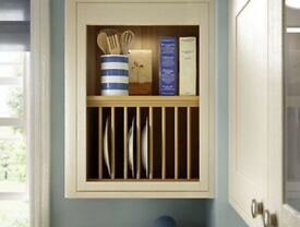 Wickes heritage plate rack wall units