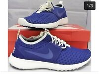 MENS NIKE JUVENATE TRAINERS BNIB BLUE SIZE 10