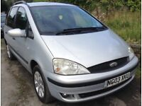 FORD GALAXY 1.9TDI ZETEC AUTOMATIC 7 SEATS+FULL HISTORY+1 OWNER +ONLY 102,000 MILES+10 MONTH MOT