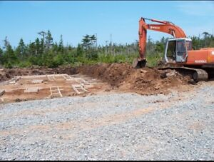 New construction land clearing/preparation