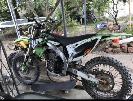 2009 KX450F Dirtbike