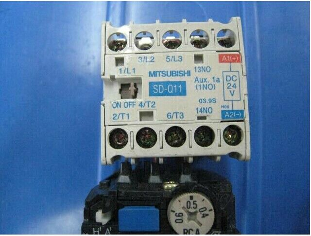 Mitsubishi Electric SD-Q11 Magnetic Contactor 24VDC USED