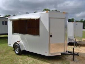 BRAND NEW FOOD TRAILER BUILD! START YOUR OWN BUSINESS!