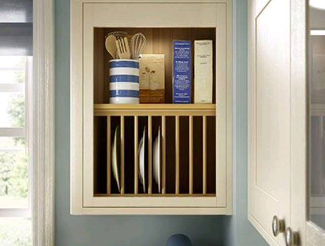 Wickes Kitchen Heritage Plate Rack Wall Units
