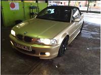 Bmw e46 323 ci sport 2.5 petrol