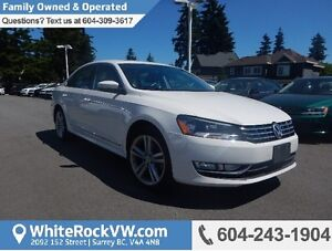 2015 Volkswagen Passat 2.0 TDI Highline HIGHLINE, LEATHER INT...