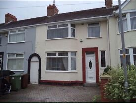 3 Bedroom house to rent in Litherland.