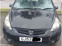 Honda Jazz Bonnet In Black (2003)