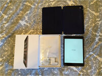 iPad Mini 2 16GB Wifi for sale w/ original box, charger (no cable) & Apple midnight blue case