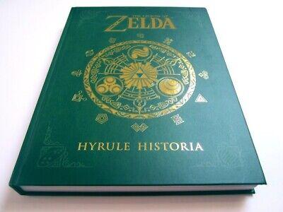 The Legend of Zelda : Hyrule Historia 2013 Hardcover Book. Brand New Sealed
