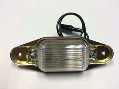 1967 1968 1969 1970 1971 GMC Truck Rear License Plate Light Assembly Y-5007