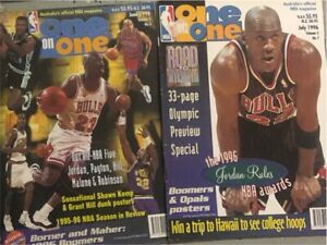 VINTAGE NBA/NBL ONE on ONE MAGAZINES Thuringowa Central Townsville Surrounds Preview