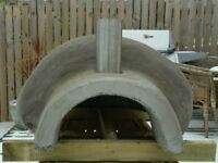 Outdoor wood fired pizza oven, woodfired oven