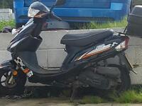Longjic 50 cc moped