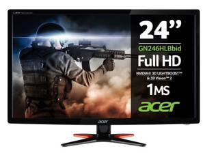 """Acer GN246HL 24"""" Gaming Led Computer PC Monitor"""
