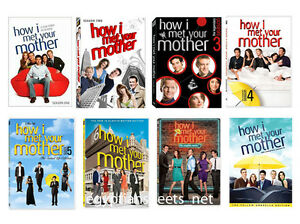 HOW I MET YOUR MOTHER SEASONS 1-8 COMPLETE DVD SERIES SEASON 1 2 3 4 5 6 7 8 NEW
