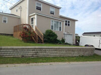 BEAUTIFULLY MAINTAINED AND EXTENDED 4 BDRM HOME IN CORNER BROOK