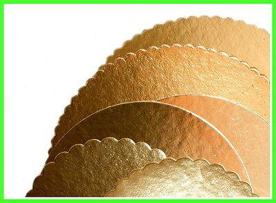 10 x Tortenunterlagen gewellt rund 30cm Tortenplatten Tortenscheiben